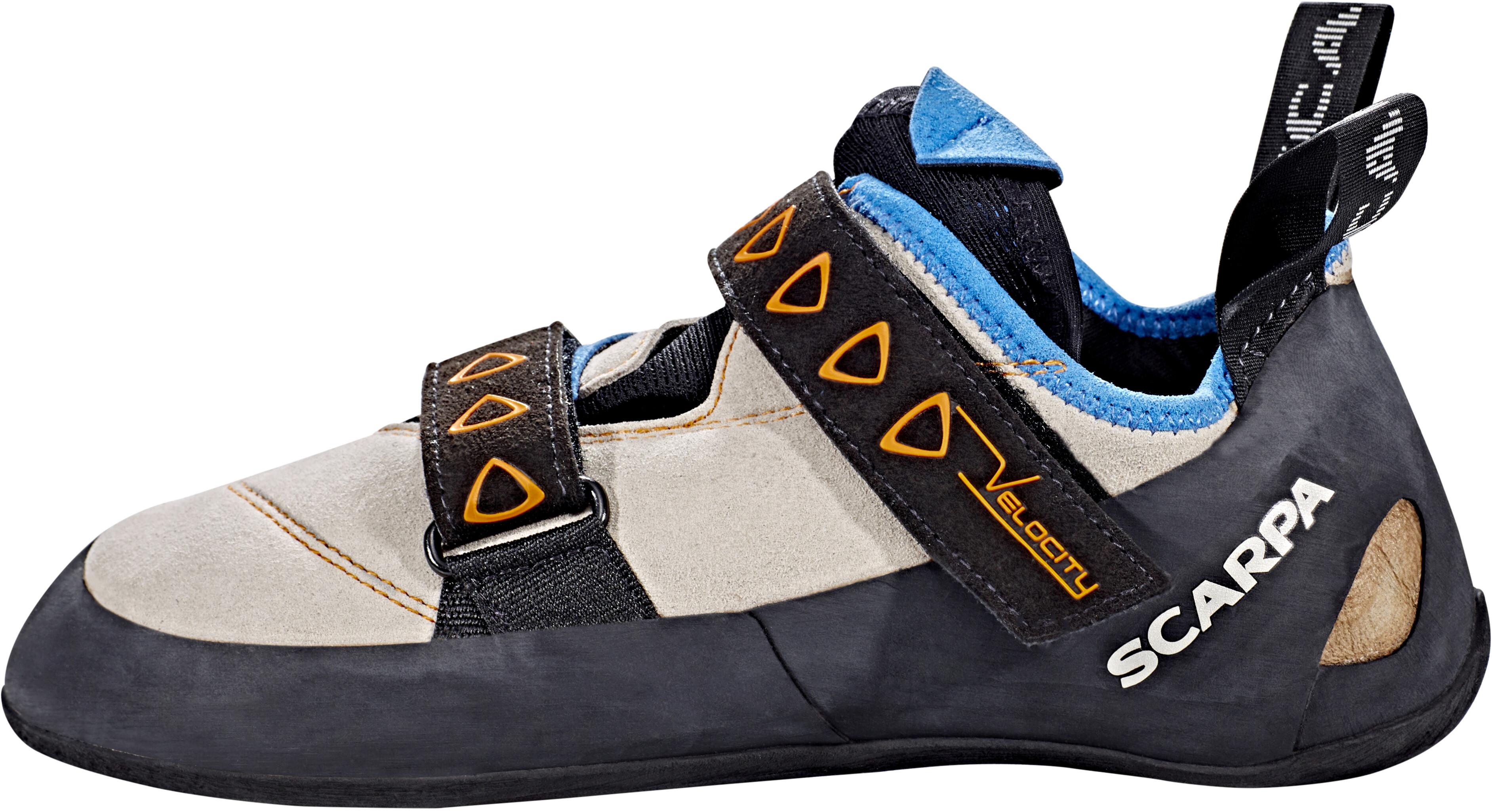 c099e2942ac769 Scarpa Velocity Climbing Shoes Men grey at Addnature.co.uk